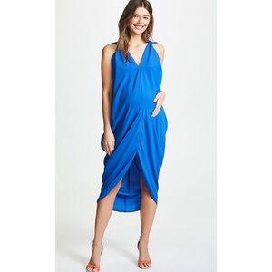 Hatch Royal Blue Amira Maternity Dress